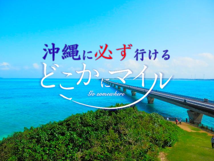 【期間限定】どこかにマイルで必ず沖縄に行くことが可能になりました