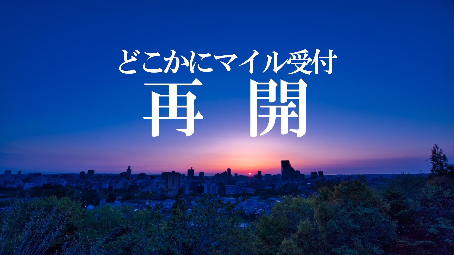 どこかにマイルの受付が19日再開!JTA羽田~宮古/石垣直行便も復活!