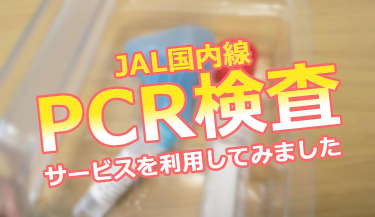【2000円】JAL国内線PCR検査サービスを利用して分かったことや注意点